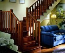 красивые лестницы воронежа, натяжные потолки
