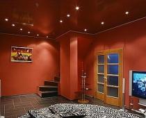 красивые натяжные потолки воронеж