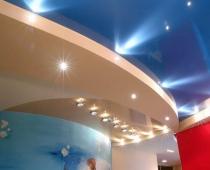 натяжные потолки с подсветкой воронеж