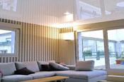 глянцевые натяжные потолоки