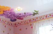сатиновые натяжные потолоки