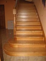 натуральные деревянные лестницы воронеж