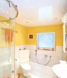 натяжные потолки воронеж ванная