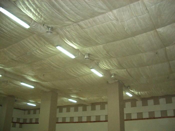 натяжной потолок со звукоизолирующими свойствами