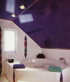 для ванной натяжные потолки воронеж