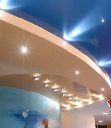 натяжные потолки в воронеже с подсветкой